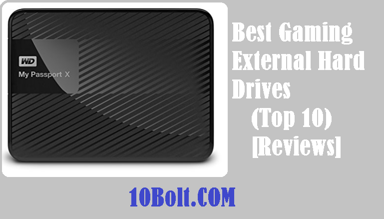 Best Gaming External Hard Drives