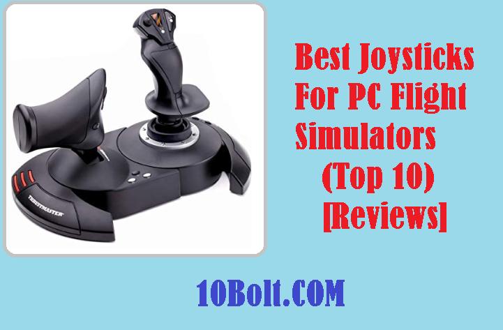 Best Joysticks For PC Flight Simulators