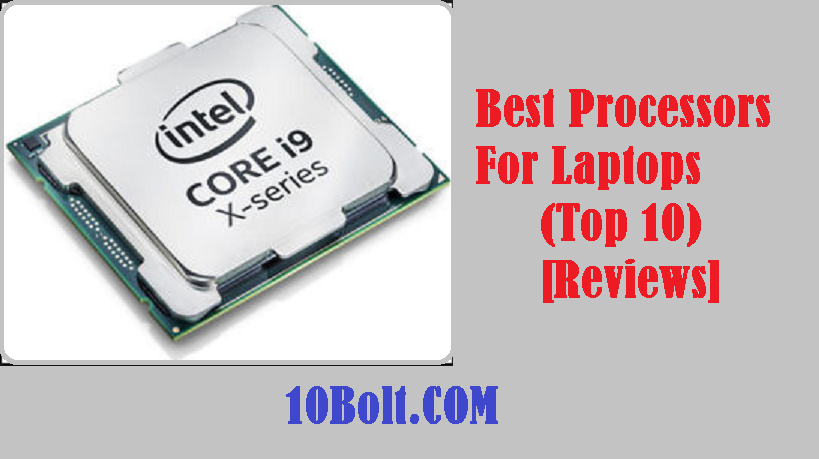 Best Processors For Laptops
