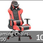 Best Gaming Chairs Under $200 2020 – Reviews & Buyer's Guide (Top 10)