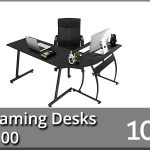 10 Best Gaming Desks under $100 2020 – Reviews & Buyer's Guide