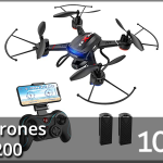 Best Drones Under $200 2021 Reviews – Buyer's Guide (Top 10)